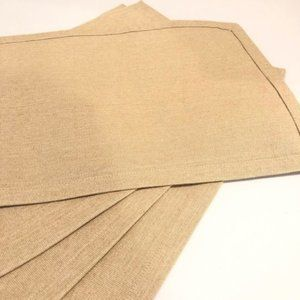 Rustic Placemats Set of Four New